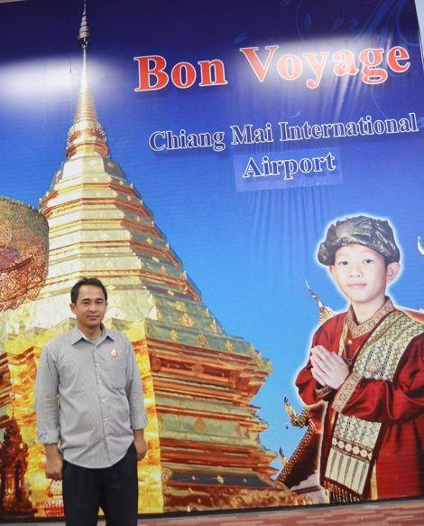 Owner Pijat Keluarga Sehat  Di Bandara Chiang Mai – Thailand