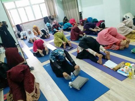 Pelatihan Totok Sehat (Totok Wajah, Totok Payudara, Totok Perut dan Totok V) Di Hong Kong oleh Owner Pijat Keluarga Sehat Ibu Denok Sariyanti