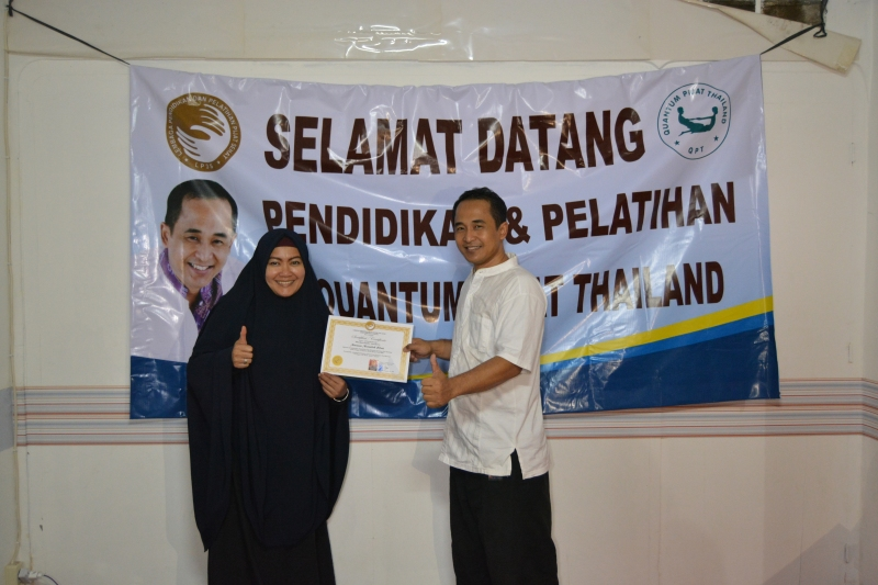 Pelatihan Quantum Pijat Thailand di Jakarta